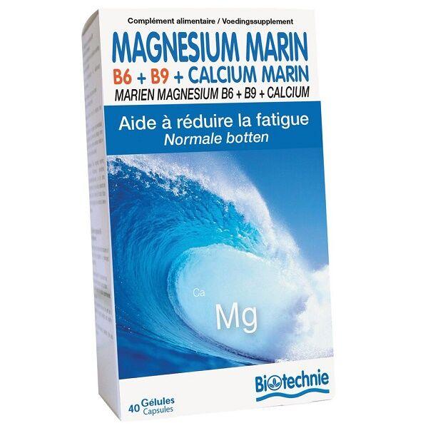 "Eyeslipsface ""Magnésium Marin B6 40 gélules - BIOTECHNIE (02613025) 40"""