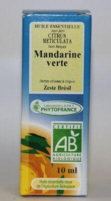 "Eyeslipsface ""Huile essentielle Mandarine Verte -10ml -ESD / PHYTOFRANCE (4.1221) 10"""