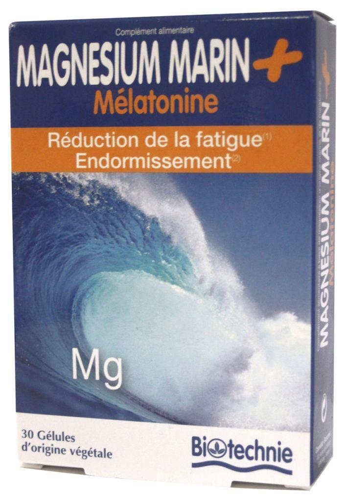 "Eyeslipsface ""Magnésium + Mélatonine 30 gélules - BIOTECHNIE (02613190) 30"""