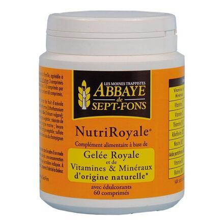"""Eyeslipsface """"Nutriroyale (Vitamines et minéraux d'origine naturelle & Gelée Royale)- 60comp. -ABBAYE DE 7 FONDS (04213030) 60"""""""
