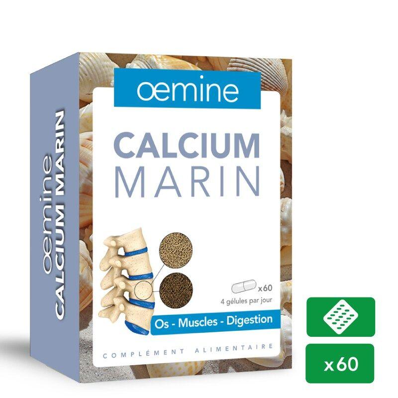 "Eyeslipsface ""Oemine Calcium marin - 60 gélules -PHYTOBIOLAB - OEMINE (14.0995) 60"""