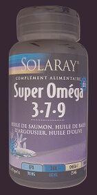 "Eyeslipsface ""Oméga 3 7 9 Plus Vitamine D -SOLARAY (0000) 60"""