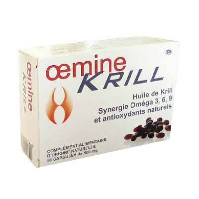 "Eyeslipsface ""Oemine Krill-60 capsules -PHYTOBIOLAB - OEMINE (0000) 60"""
