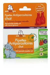 """Eyeslipsface """"Pipettes chat x2 -ANIBIOLYS (11251052) 2"""""""