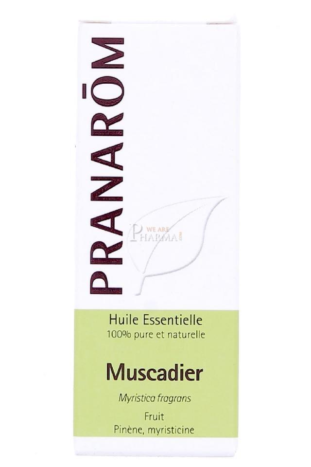 """Eyeslipsface """"Huile essentielle Muscadier - 10ml - PRANAROM (0000) 10"""""""
