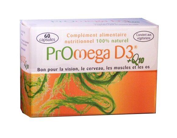 "Eyeslipsface ""PROMEGA D3® +Q10 - 60 capsules -CRP (0000) 60"""