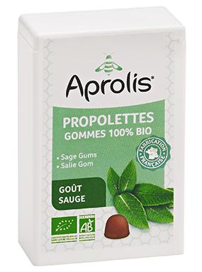 "Eyeslipsface ""Gommes tendres Bio propolettes Propolis Sauge- 50g - APROLIS (0000) 50"""