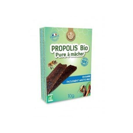 """Eyeslipsface """"Propolis pure à mâcher bio -10g -PROPOS NATURE (8.8625) 10"""""""