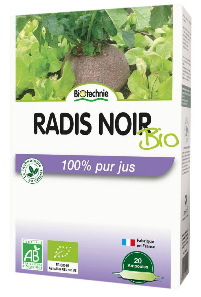 "Eyeslipsface ""Radis noir BIO 20 ampoules - BIOTECHNIE (01007569) 20"""