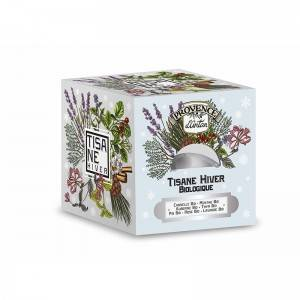 "Eyeslipsface ""Tisane cube Hiver BIO - Recharge 24 sachets - PROVENCE D'ANTAN (00519755) 24"""