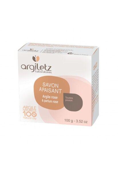 "Eyeslipsface ""Savon Apaisant argile rose parfum Rose-100g -ARGILETZ (01834080) 100"""