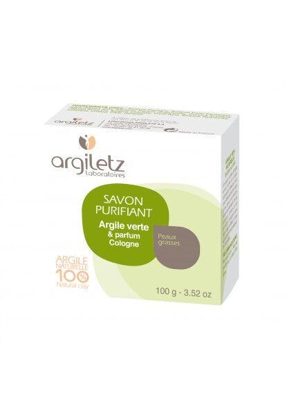 "Eyeslipsface ""Savon Purifiant argile verte parfum Cologne-100g -ARGILETZ (01834075) 100"""