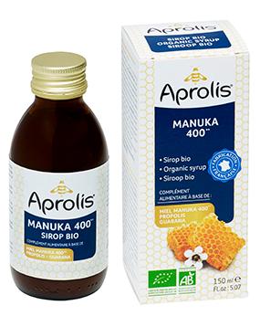 "Eyeslipsface ""Sirop Bio miel de Manuka, propolis, guarana- 150ml -APROLIS (0000) 150"""