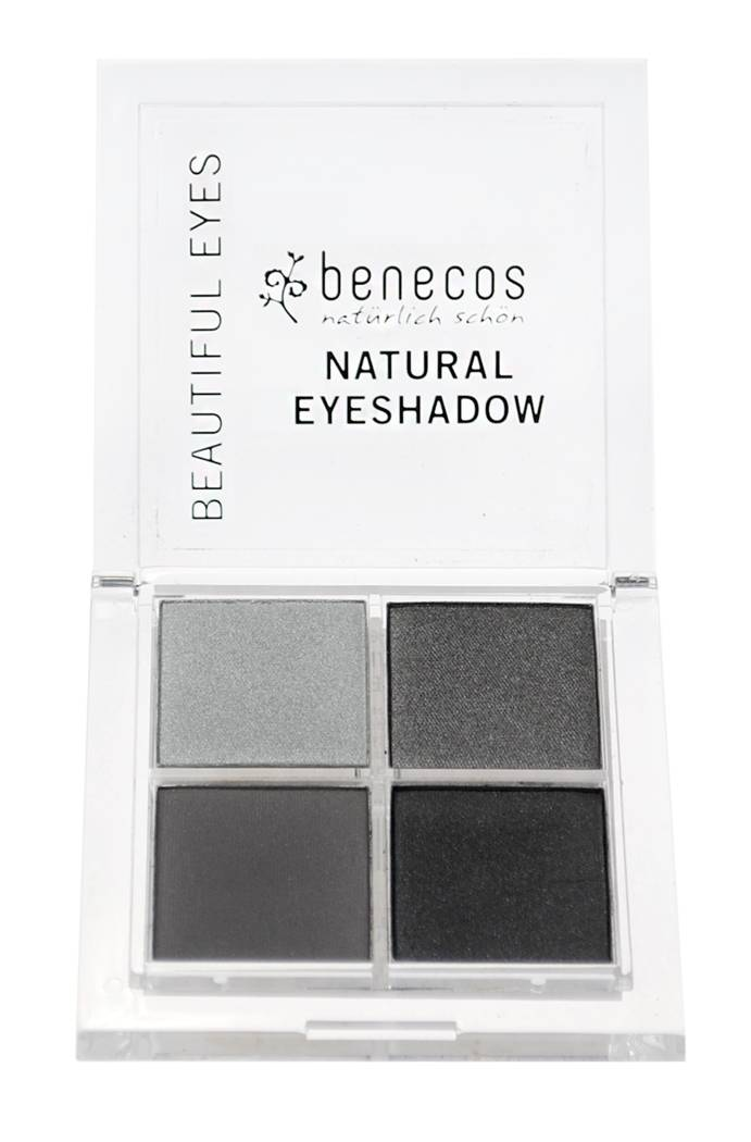 """Eyeslipsface """"Ombres 4 couleurs Camaïeu de gris (smokey eyes) BIO - BENECOS (228 41 320) 8"""""""
