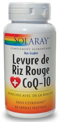 "Eyeslipsface ""Levure de Riz Rouge + Co Q10 -SOLARAY (46.9716) 60"""