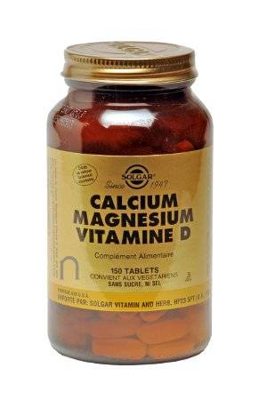 """Eyeslipsface """"Calcium Magnésium Vitamine D - SOLGAR (16.8388) 150"""""""