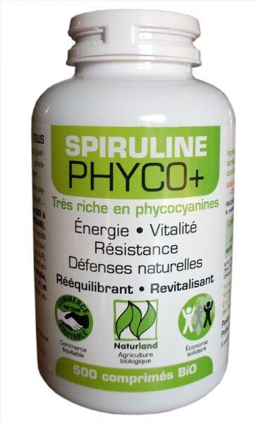 "Eyeslipsface ""Spiruline PHYCO+ - 500 comprimés - LT LABO (43.6682) 500"""