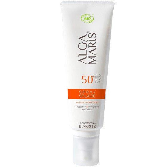 "Eyeslipsface ""Spray solaire SPF 50+ - 125ml -ALGA MARIS (0000) 125"""