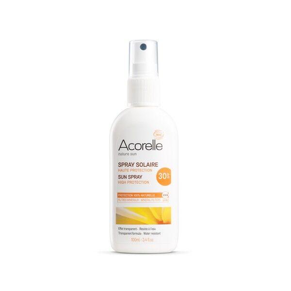 "Eyeslipsface ""Spray solaire SPF 30 Bio-100ml -ACORELLE (00632002) 100"""
