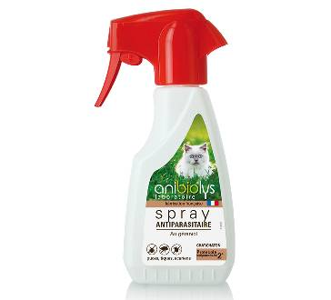 "Eyeslipsface ""Spray antiparasitaire Chat-250ml -ANIBIOLYS (11251007) 250"""