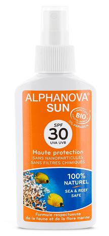 """Eyeslipsface """"Spray solaire SPF 30 Bio- 125g -ALPHANOVA (17835004) 125"""""""