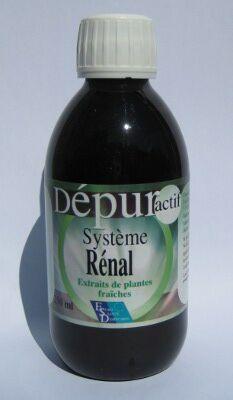 """Eyeslipsface """"Dépur Actif - Système Rénal - 250 ml - ESD / PHYTOFRANCE (14.6635) 250"""""""