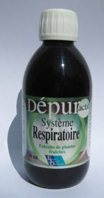 "Eyeslipsface ""Dépur Actif - Système Respiratoire - 250 ml - ESD / PHYTOFRANCE (14.6635) 250"""