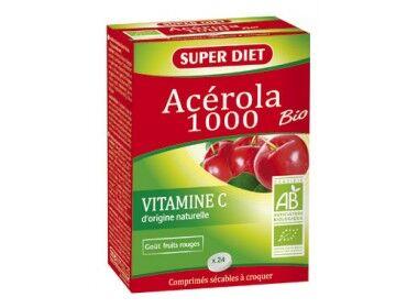 """Eyeslipsface """"Acérola 1000 Vitamine C Bio-24 - SUPER DIET (8.8625) 24"""""""