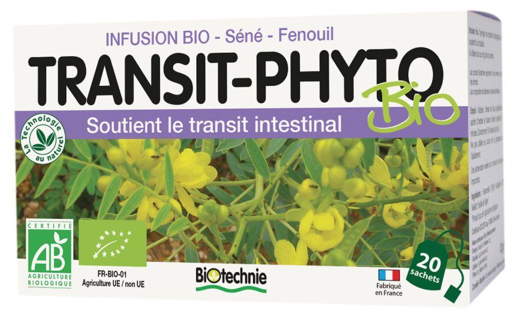"""Eyeslipsface """"Transit phyto infusion BIO 20 sachets – BIOTECHNIE (02608100) 20"""""""