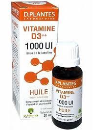 "Eyeslipsface ""Vitamine D3 ++ 1000 UI - D-PLANTES (0000) 20"""