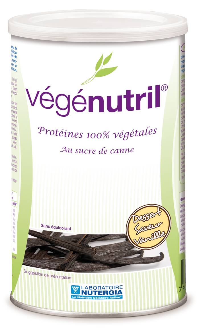"Eyeslipsface ""Vegenutril Dessert Vanille -300 g-NUTERGIA (15.7109) 300"""