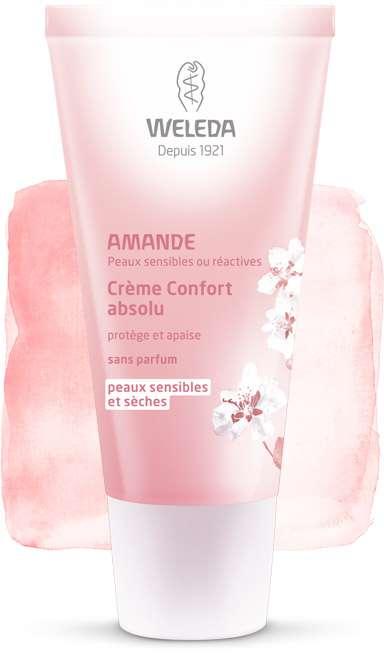 "Eyeslipsface ""Amande - Crème confort absolu - WELEDA (10.1630) 30"""