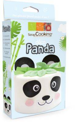 Scrapcooking Kit SCRAPCOOKING deco Azyme Panda