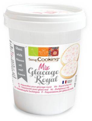 Scrapcooking Pot SCRAPCOOKING mix glacage royal blanc