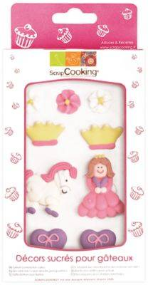 Scrapcooking Décoration SCRAPCOOKING sucres princesse