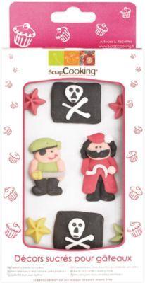 Scrapcooking Décoration SCRAPCOOKING sucres pirate