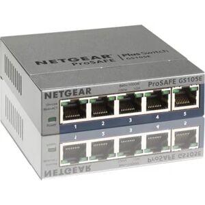 Netgear SWITCH NETGEAR GS105E Metal 5 Ports Gbps - Publicité