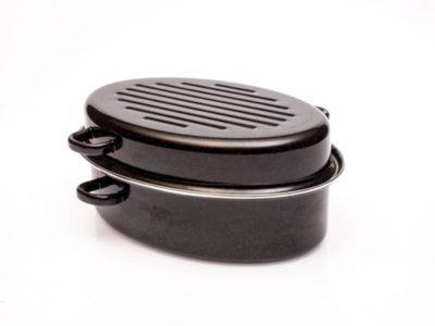 Baumalu Cocotte ovale BAUMALU roaster 38 cm 6.3L