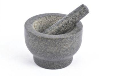 Essentielb Pilon ESSENTIELB et mortier en granit