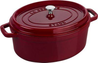 Staub Cocotte ovale STAUB 33 cm Bordeaux