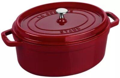 Staub Cocotte ovale STAUB 31 cm Bordeaux 5.5 L