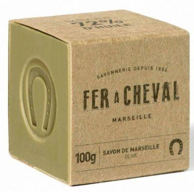 Fer À Cheval Savon FER À CHEVAL Cube Marseille olive