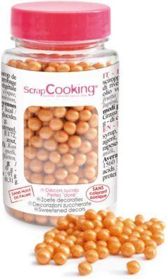 Scrapcooking Décoration SCRAPCOOKING sucre perles dor