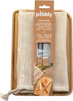 Pebbly PLANCHE PEBBLY + econome + couteau + fil
