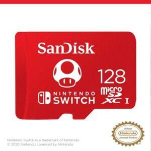 Sandisk Carte SANDISK Nintendo switch microSDXC - Publicité
