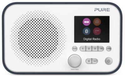 Pure Radio PURE Elan BT3 bleue marine/blanche