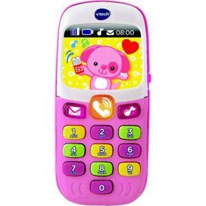 Vtech Jeu VTECH Baby smartphone bilingue rose - Publicité