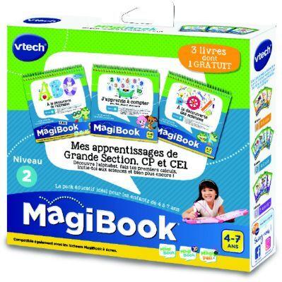 Vtech Jeu VTECH MagiBook - Grande section, CP