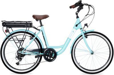 Essentielb Vélo VAE ESSENTIELB Urban 400 vert d'eau