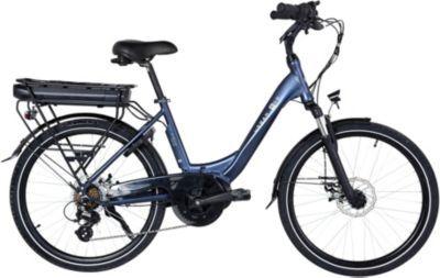 "Essentielb Vélo VAE ESSENTIELB Urban 600 24"" bleu n"